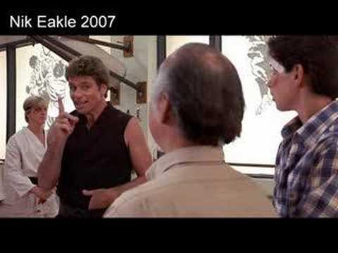 The Karate Kid Wipe Me Down Rap  Remix! WideScreen