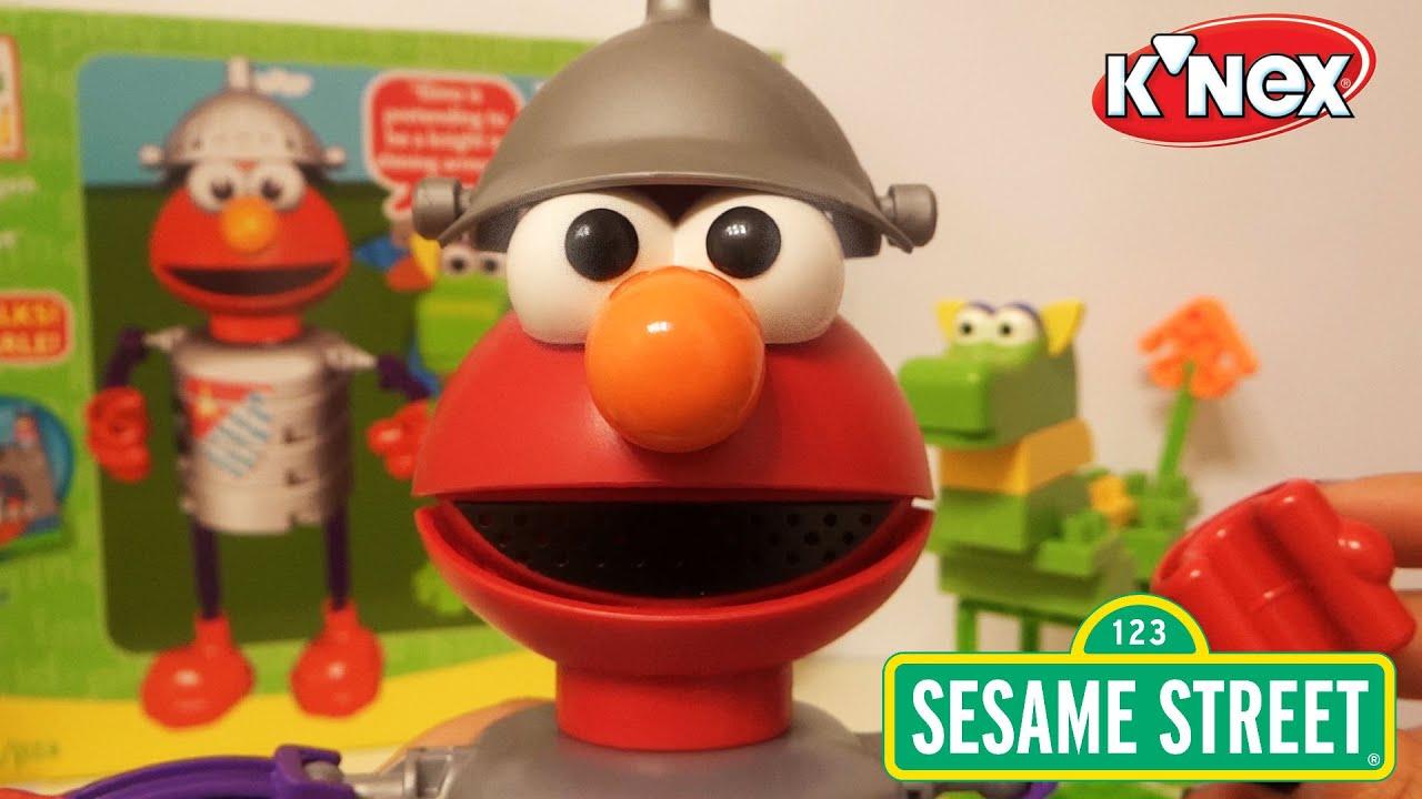 Let s Build Elmo and his dragon by Kid K nex Juguemos a armar a