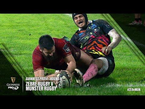Guinness PRO14 Round 9 Highlights: Zebre Rugby v Munster Rugby