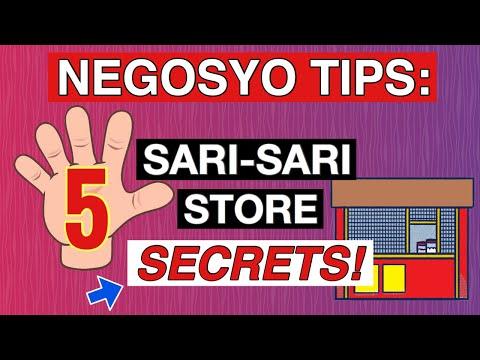 NEGOSYO TIPS: SARI SARI STORE SECRETS kung PAANO ito PAPALAGUIN ng MABILIS!