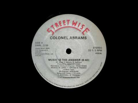 Colonel Abrams - Music Is The Answer