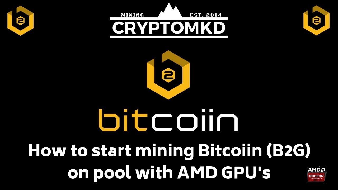 How to start mining Bitcoiin (B2G) on pool with AMD GPU's by Kire Palceski
