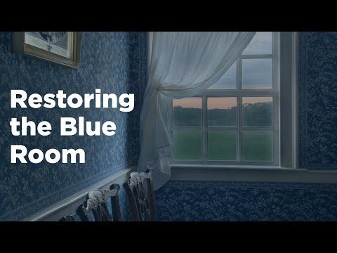 RARE Look at Restoring George Washington's Blue Room