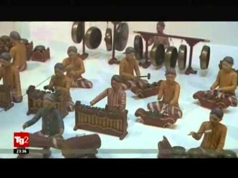 Indonesia Temporary Exhibition @ Vatican Museums - TG2 (Rai 2) coverage