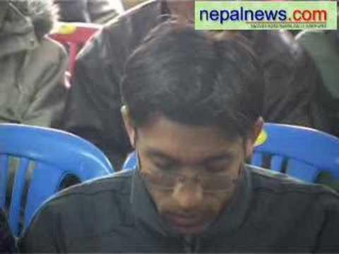 Janamorcha chairman Chitra Bahadur KC speaks on po...