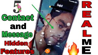 [Hindi] 5 Contact and Message Hidden Tricks in Realme 2 | Pop Up Message | Contact Avtar n much more