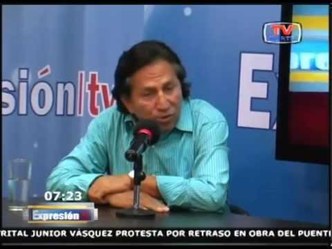 Expresion TV: Entrevista a Alejandro Toledo 270515