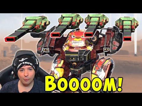 NEW 200% BOOM Damage BEHEMOTH KANG DAE - War Robots Live Gameplay WR