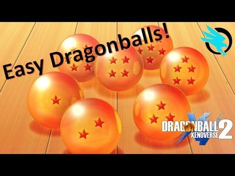 FASTEST WAY to collect all 7 Dragonballs | Dragonball Xenoverse 2