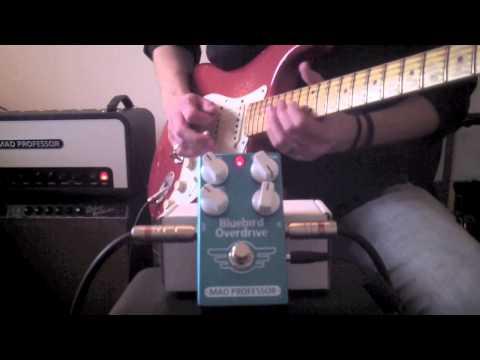 Mad Professor Bluebird Overdrive Delay rock tones by Marko Karhu