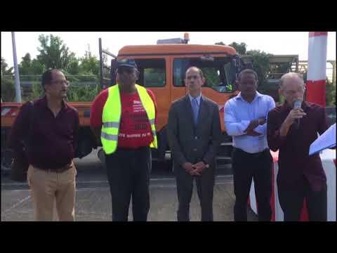 Martinique : intervention sur la RN9