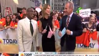 Al Roker acts Possessed on the Today Show after Co Host says Holy Ghost! (Funny)