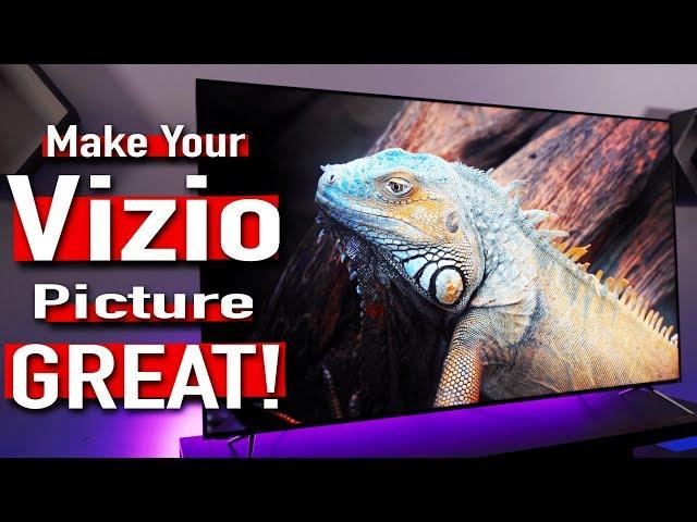 Vizio P Series Quantum X Best Movie & Gaming Picture Settings [4K HDR]