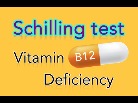 Schilling Test and Vitamin B12 Deficiency - MADE EASY