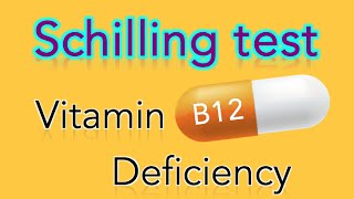 Schilling Test and Vitamin B12 (Cobalamin) Deficiency - MADE EASY