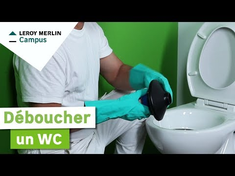 Comment Déboucher Un Wc Leroy Merlin Youtube