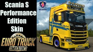 ✅ ETS2 1.30 Open Beta - Scania S Performance Edition Skin