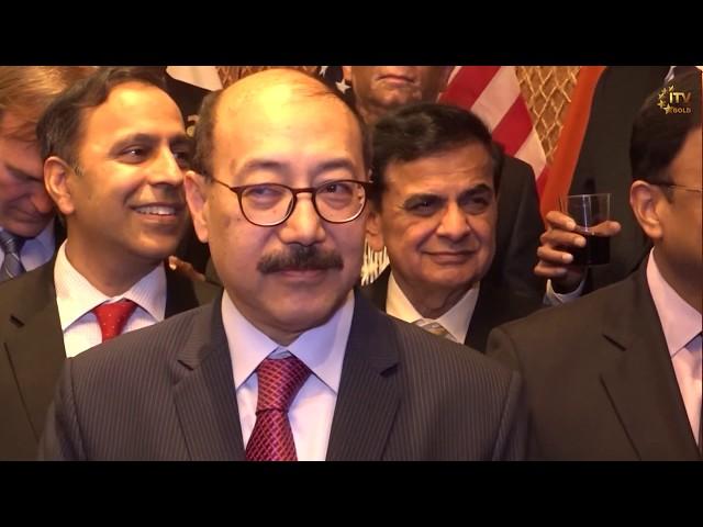 Reception for New Indian Ambassador Harsh Vardhan Shringla at Capitol Hill