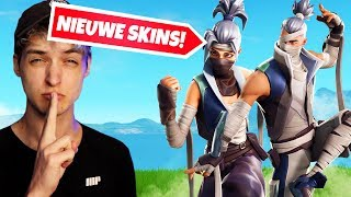 THESE NEW SKINS ARE INSANE!! | Fortnite Live (Néerlandais/NL)