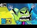 Teen Titans Go!   Introducing Beast Man   Cartoon Network