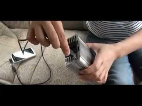 Convertisseur 12 / 220 V pour voiture, 500W + Port USB 5V