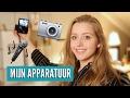 Mijn filmapparatuur voor YouTube + nieuwe vlog camera
