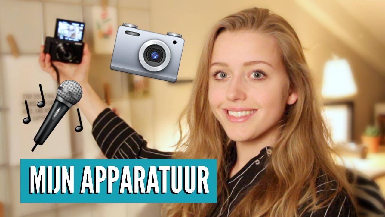 Mijn Filmapparatuur Voor Youtube Nieuwe Vlog Camera Youtube