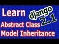 Django 2 Abstract Base Class Model Inhertance #30