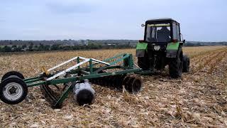 Уборка кукурузы 2017 , сравнение урожайности гибридов