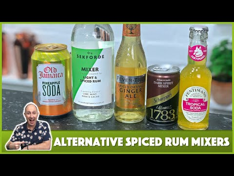 Spiced Rum Mixers - What To Mix With Spiced Rum