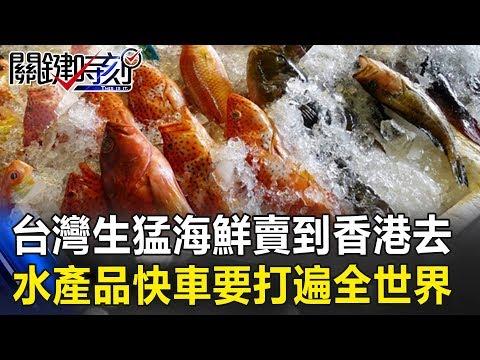 台灣「生猛海鮮」賣到香港去 水產品快車要打遍全世界! 關鍵時刻20190322-5 黃世聰 林國慶 林裕紘 謝龍介