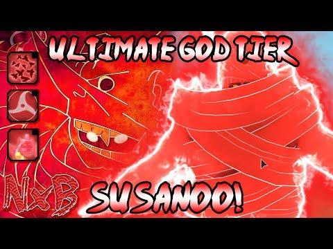 [CODE!] THE ULTIMATE GOD TIER SUSANOO (Itachi Susanoo SHOWCASE!) | Naruto RPG: Beyond