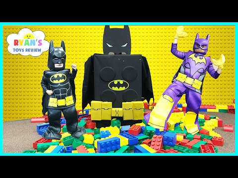 Thumbnail: THE LEGO BATMAN MOVIE GIANT SURPRISE TOYS Collection! Biggest Surprise Egg Opening Lego Stop Motion