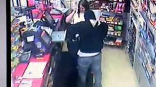 Surveillance video of armed robbery of Dyer Express Thumbnail
