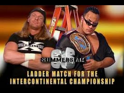 WWF SUMMER SLAM 1998 (ROCK V*S HHH)WWF INTERCONNTINTAL CHAMP