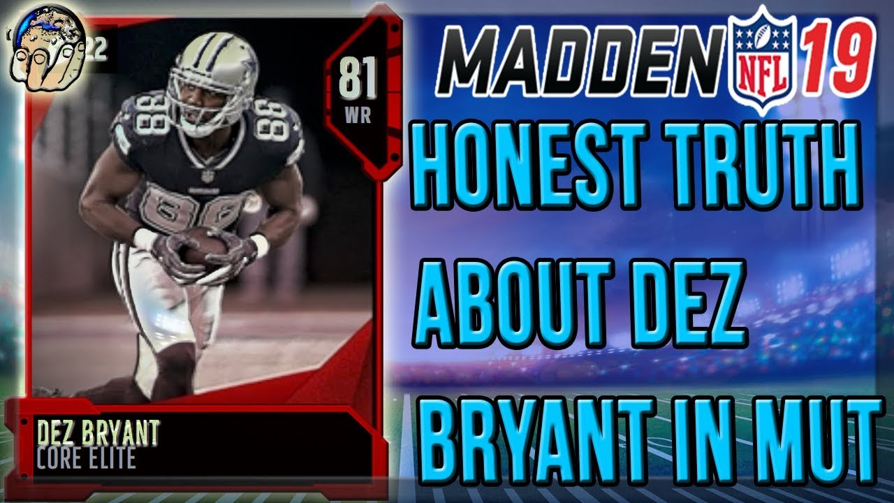 Madden 19 Dez Bryant Rating Reveals Why He S Still Not Signed In The Nfl Full Details On Dez