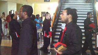 "Rho Delta Chapter of Phi Mu Alpha Sinfonia singing ""Children of Song"""