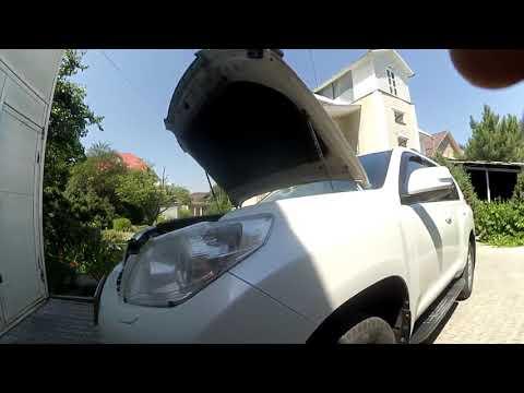 Тоyota Land Cruiser Prado 150 - как снять передний бампер?