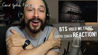 Vocal Coach REACTION! BTS, Hold Me Tight LIVE!