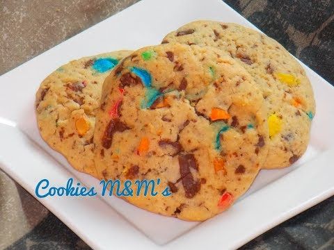 cookies-m&m's---extra-moelleux---recette-americaine