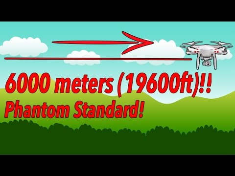 Dji Standard. How to fly a distance of 6000m (19600ft) !! Tips and tricks for you. Not modification!