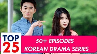 Video Top 25 Korean Drama List with 50+ Episodes download MP3, 3GP, MP4, WEBM, AVI, FLV Agustus 2018