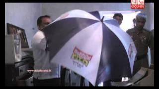UPFA election propaganda material seized in Kuliyapitiya