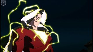 Billy Batson turns into Shazam | Justice League: War