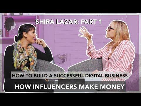 How to build an online EMPIRE | Handling online scandals | Shira Lazar Part 1