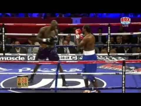 Deontay Wilder Vs. Audley Harrison FULL FIGHT