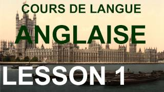 E0001 Serial and Oral English Course and Lessons COURS DE LANGUE ANGLAISE