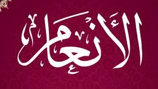 سورة الأنعام كاملة - القارئ عبدالكريم الدغوش