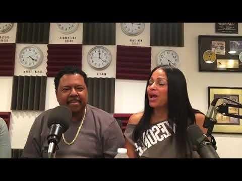 EDDIE LOVE OF WBLS, 107.5FM  VISITS DIANA & THE CREW