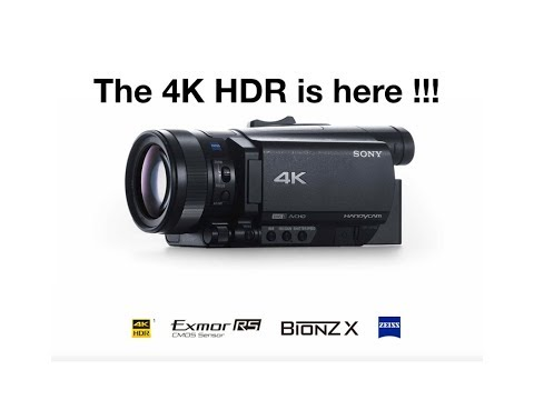 Sony AX700 preview, from Sony AX100 expert